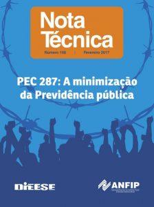 Nota Técnica DIEESE e ANFIP | PEC 287: A minimização da Previdência pública