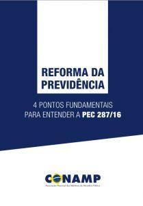 CONAMP - Quatro Pontos Fundamentais Para Entender  a PEC 287/16
